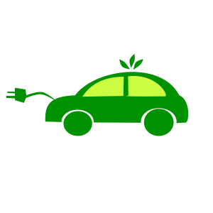 Electric Cars Face Set Back
