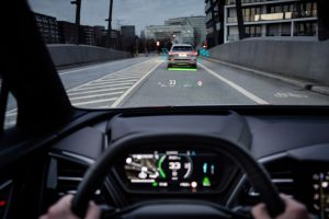 The Latest Audi Has Augmented Reality Heads Up Display – NEATO!